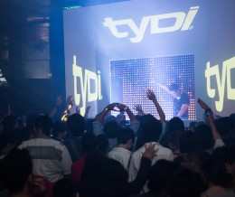 International DJ TYDI – Concert Video Mapping