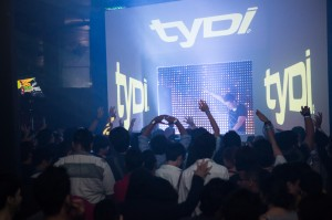 Video mapping for TYDI in Malaysia - Vertigo Club