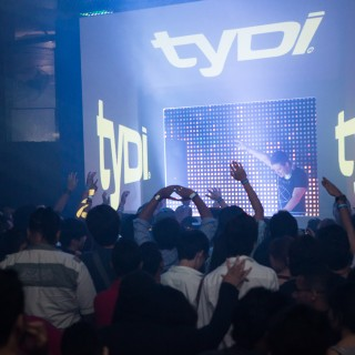 International DJ TYDI – Concert Video Mapping