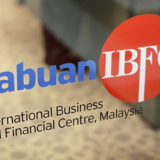 Labuan IBFC Video Mapping Launching Malaysia