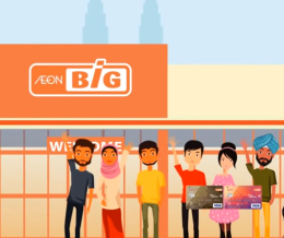 AeonBIG Visa Credit Card Web Video