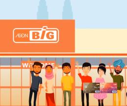 AeonBIG Visa Credit Card Web Video